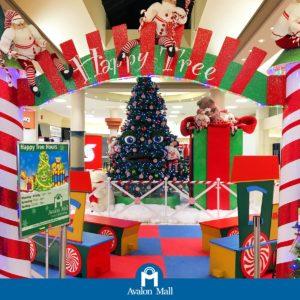 Avalon Mall VOCM Happy Tree Launch