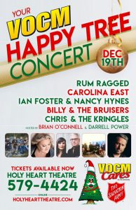 VOCM Happy Tree Concert
