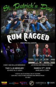 St. Patricks Day with Rum Ragged and Friends