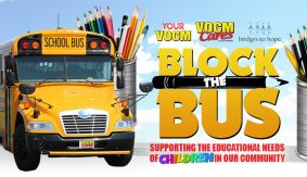 Block the Bus School Supply Campaign on Now!
