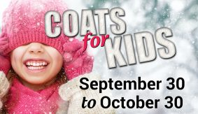 Coats for Kids (and Adults) - Collecting Donations until October 30